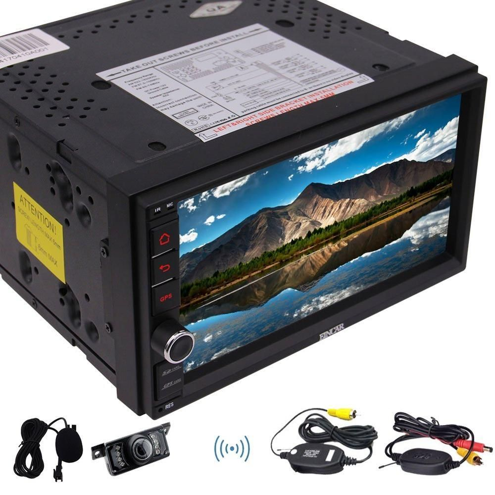 7'' Android 6 0 Car Stereo with Quad Core Double Din 7