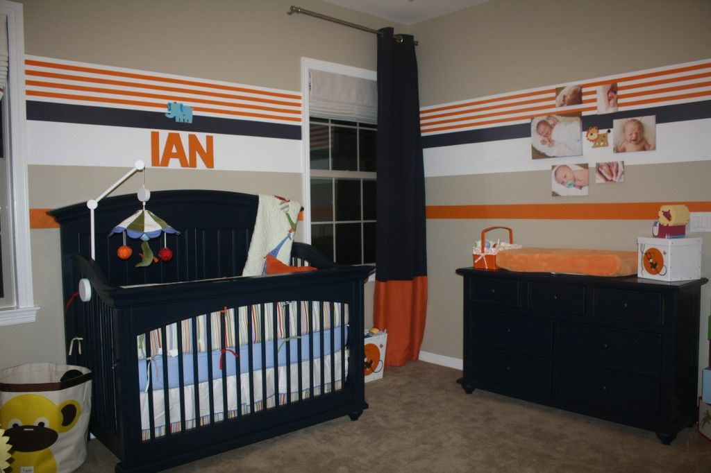 Baby Nursery Circus For Boy Or