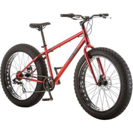26 Mongoose Hitch Men S All Terrain Fat Tire Bike
