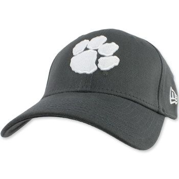 35488d5d5de96 Clemson Tigers New Era Fitted Hat - Grey  clemson