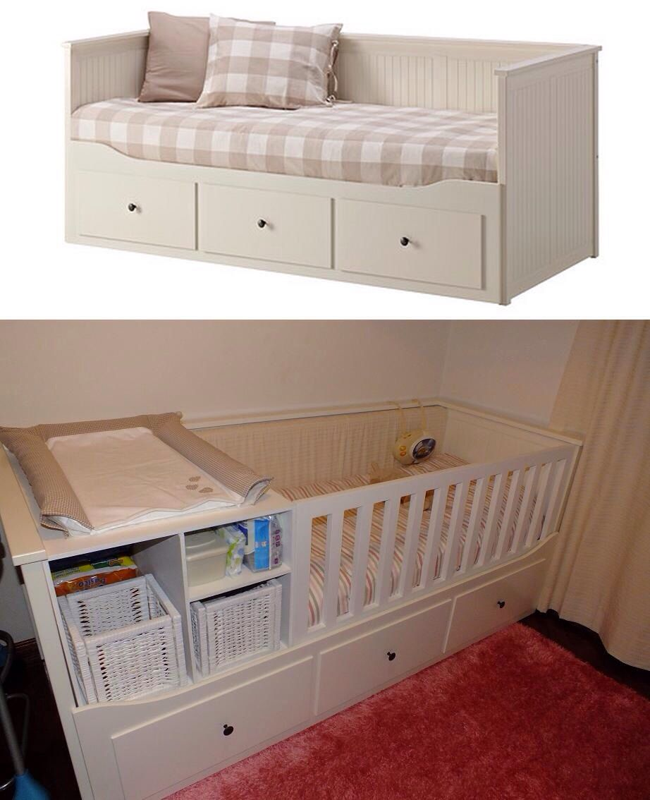 Hemnes Day Bed W 3 Drawers 2 Mattresses Grey Malfors Firm Ikea Hemnes Tagesbett Tagesbett Ikea Tagesbett