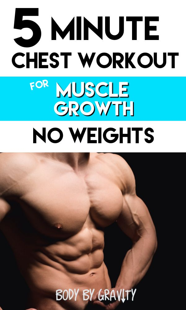Insane chest growth workout