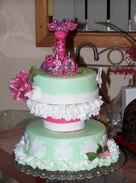 Adorable Giraffe   Cake ~ totally edible
