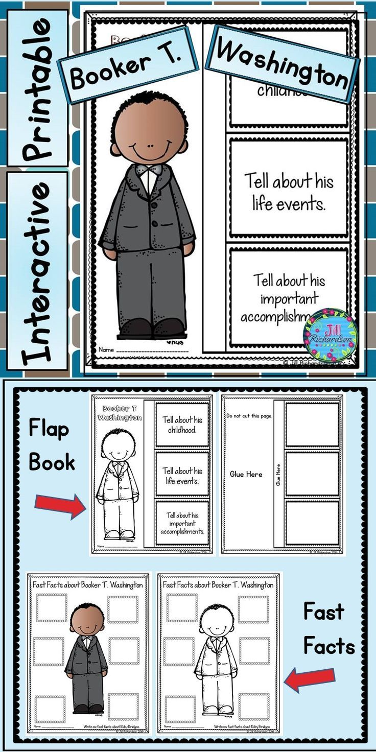 Booker T Washington Resources Have Your Children Research Booker T Washington For Younger Children Have Them Listen Interactive Writing Teaching Booker T [ 1472 x 736 Pixel ]