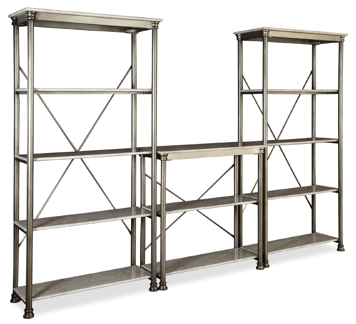 Dalton double bar back shelves l x d x h barsbar backs
