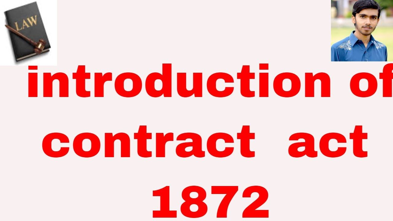 introduction of contract