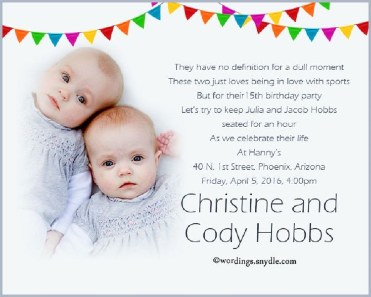 First Birthday Invitation Quotes In Hindi
