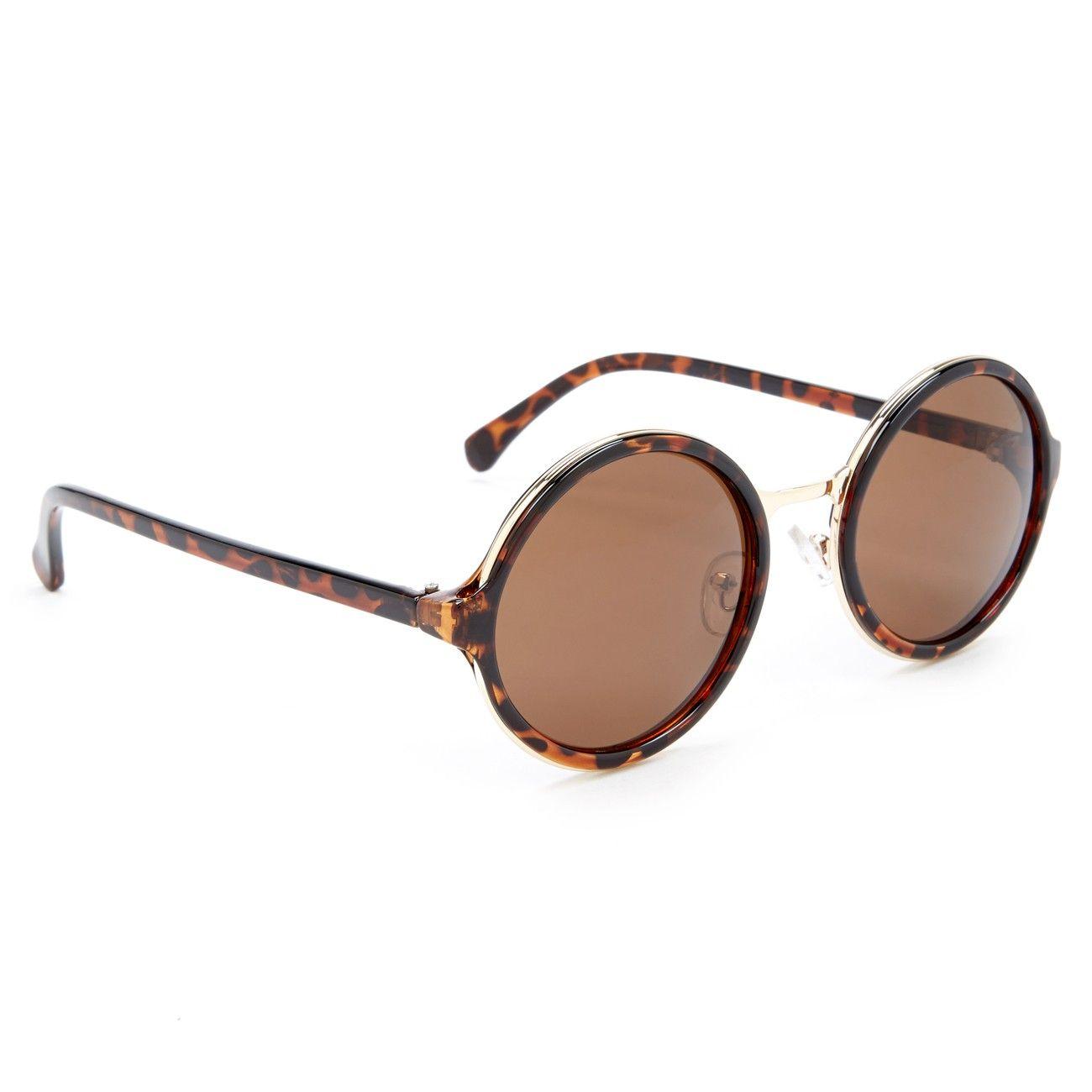Sole Society 'Marlene' oversized round sunglasses, $24.95