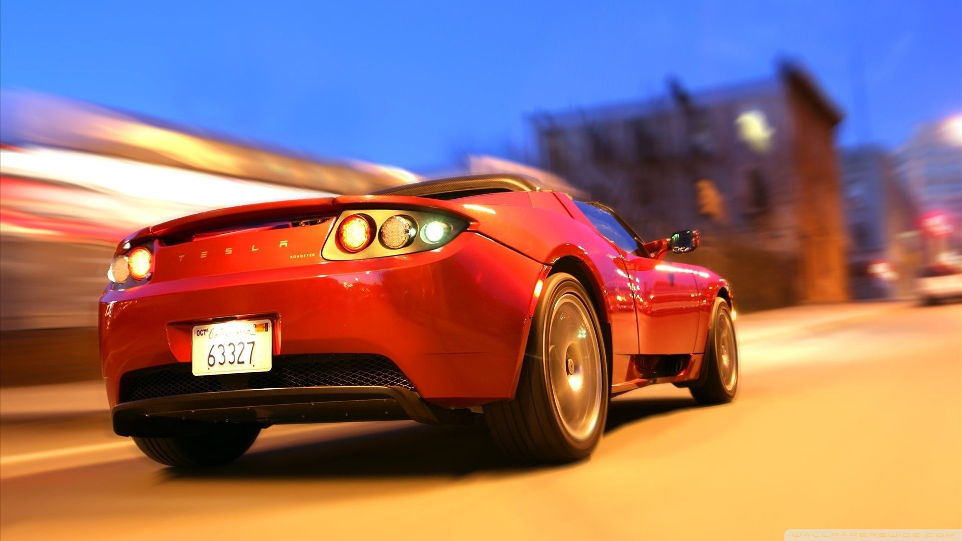 Tesla Roadster Black Wallpaper For Mac tesla roadster