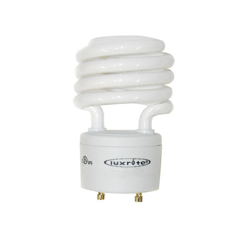 Luxrite 23w GU24 4100k Twist T2 Cool White Fluorescent Light Bulb ...