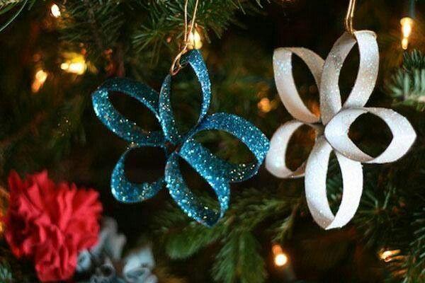 Lavoretti Di Natale Con Carta.Decorazioni Di Natale Dai Rotoli Della Carta Igienica 10 Idee Fai Da Te Greenme