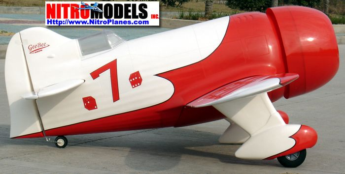 Gee Bee 120 - 71 - how would you weigh a plane without scales