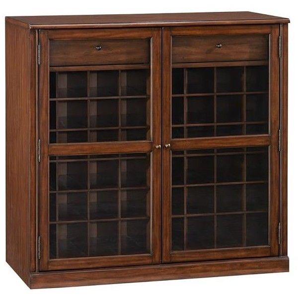Pottery Barn Saxton Single Glass Door Cabinet 650 Cad Liked On