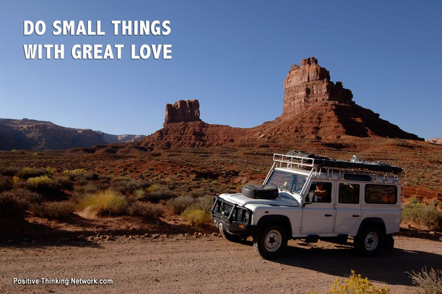Do small things with great love. #Depression #PTSD #PositiveSelfTalk #Woundedwarrior #PositiveThinking #Positive #Hope #Unstoppable