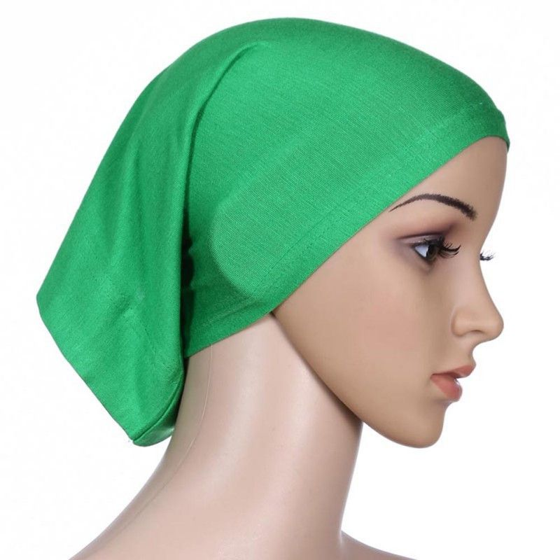 bdca401999a9 Women Hijab Cap Hat Cap Cotton Under Scarf Bone Bonnet Neck Cover Muslim  Colorful  Affiliate