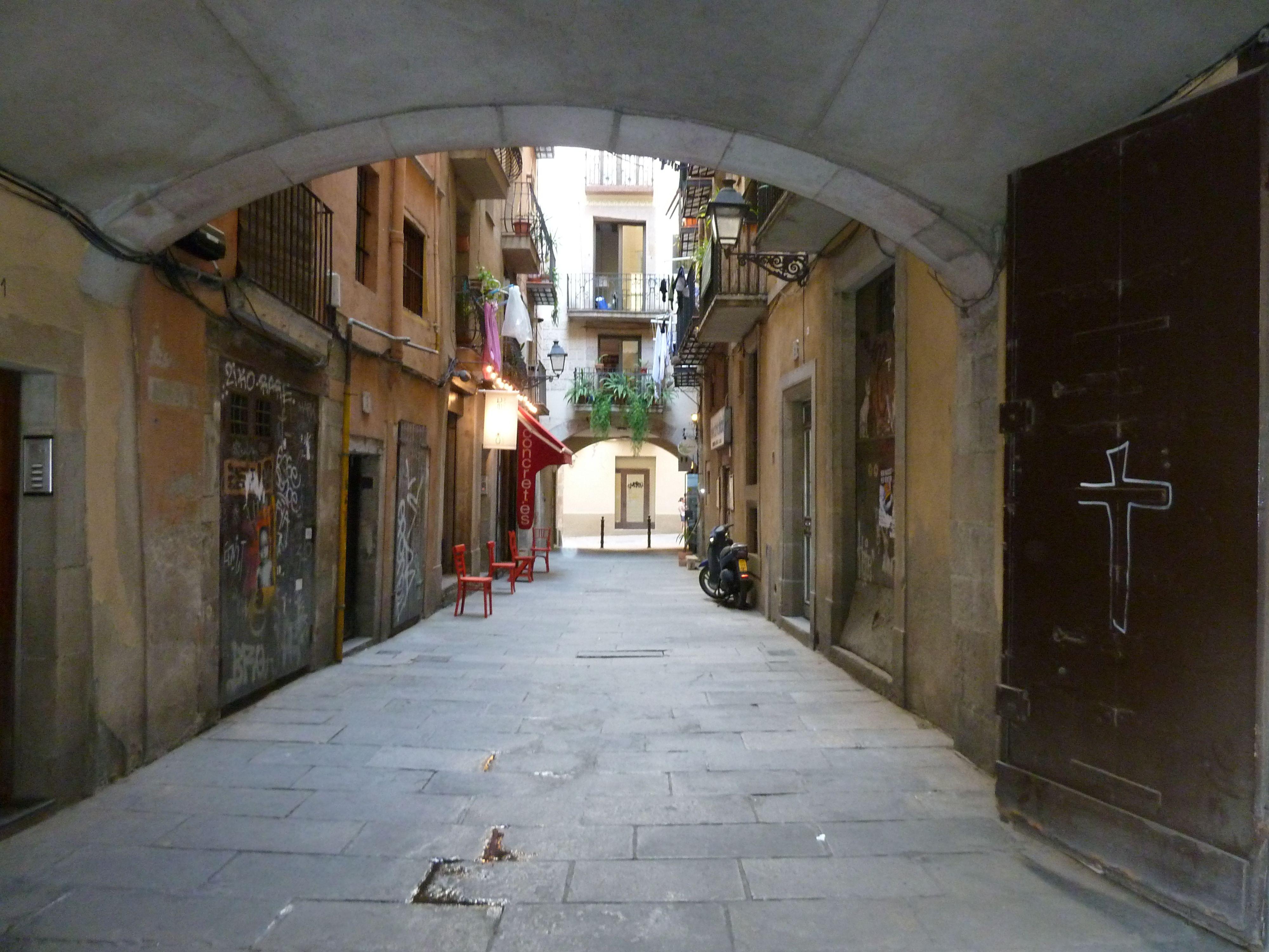 Barcelona, andando a pé...