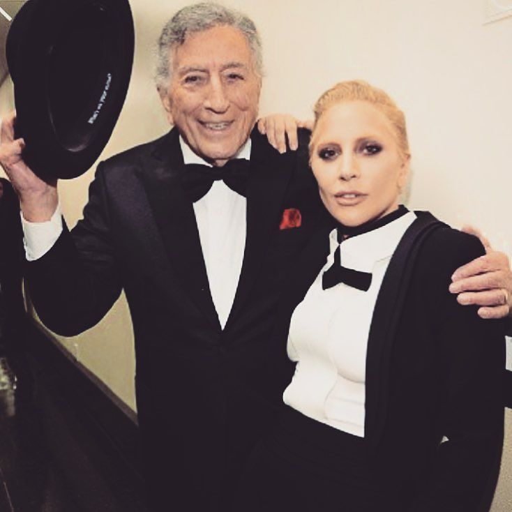Nothing I love more than when my guy's proud of me. #TonyGaga #Sinatra100