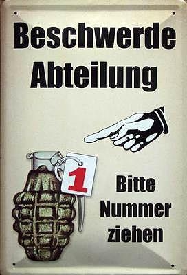 Die Deutschen Sind Ein Volk Von Ziegen Sie Meckern Immer
