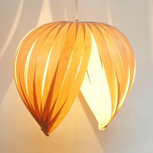 nature inspired lighting. @Atelier Cocotte | Luminaires En Placages De Bois Canadiens Sous Forme Cocotte. Inspired LightingWood VeneerLamp DesignBirchesNature Nature Lighting M