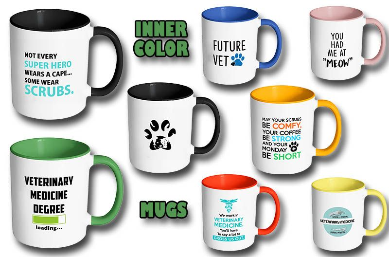 Accent mugs gifts for veterinarians vet tech gifts mugs