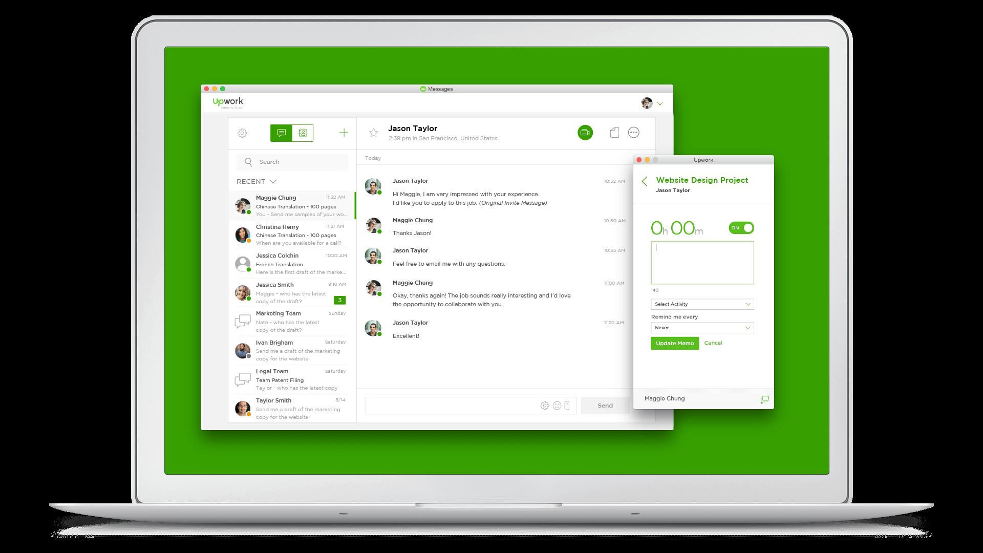 Download the New Upwork Desktop App
