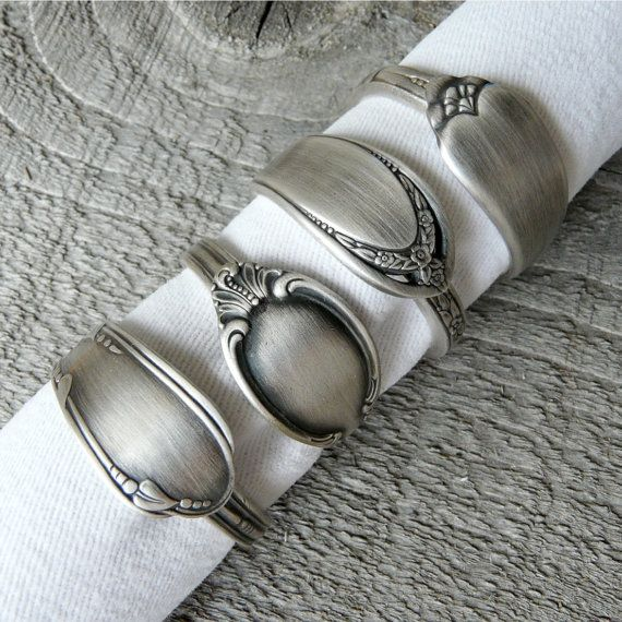 Antique Spoon Napkin Rings By Revisions Marquette Mi