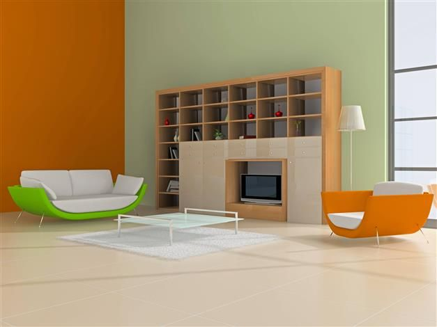 Duo vert et orange Zolpan Sienne / Orangé Pinterest Warm