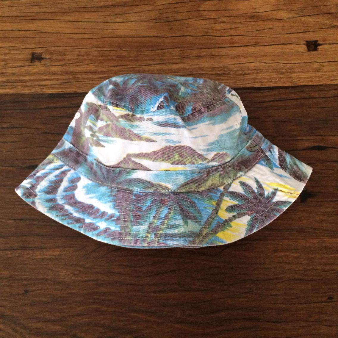 Palm tree custom printed bucket hat / hat supplier