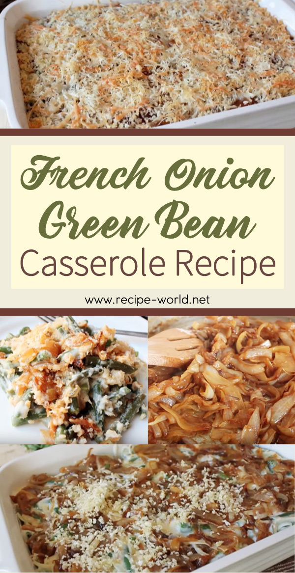 French Onion Green Bean Casserole images