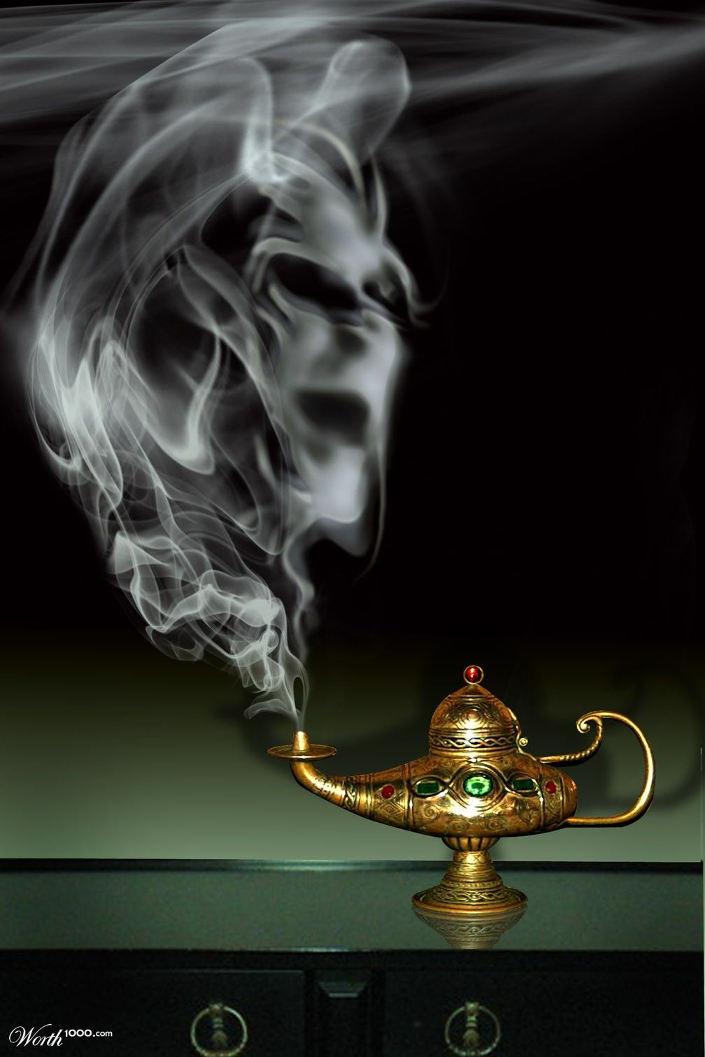 Magical Item-Genie lamp | Magical Items | Pinterest | Genie lamp ... for Magic Lamp With Smoke  51ane