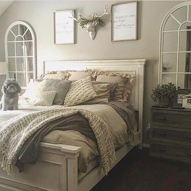 Customer S Photo Of Wamsutta Vintage Linen Duvet Cover Bedroom Decor Cozy Cozy Bedroom Furniture Rustic Bedroom Decor
