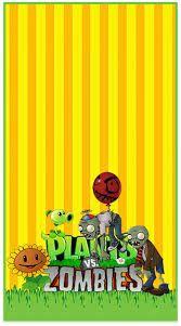 Resultado De Imagen Para Cumpleaños De Plantas Vs Zombies
