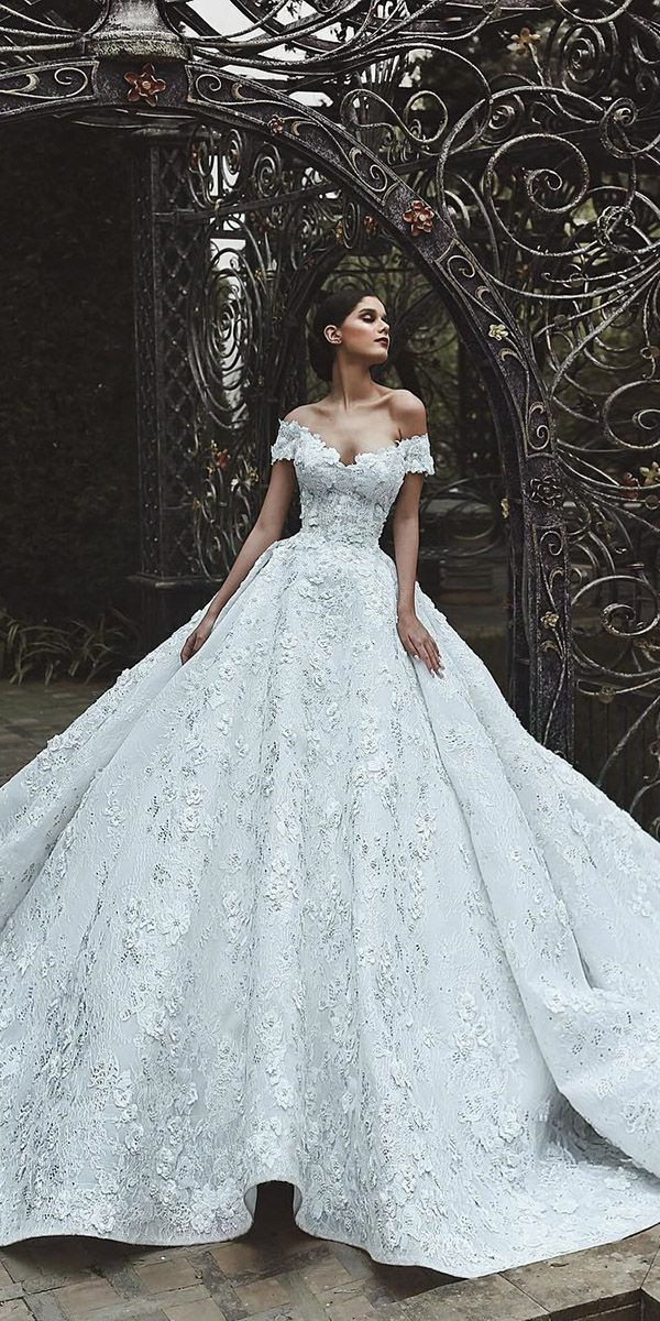 Photo of 24 Awesome Off The Shoulder Wedding Dresses Inspiration