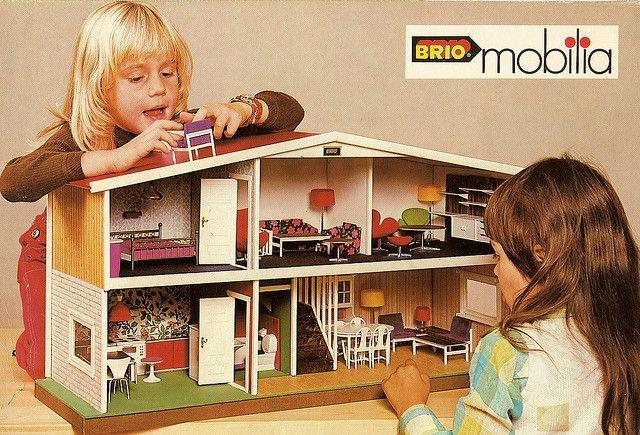 Vintage Brio Mobilia Box Dolls Houses Pinterest