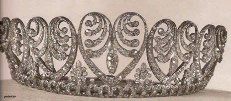 Diadema di nozze della Regina Ingrid di Danimarca, nata Principessa di Svezia (Koch)