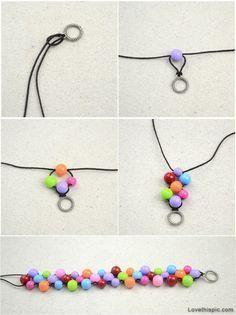 Crafts Diy Bracelet Jewelry Craft Crafty Easy Ideas