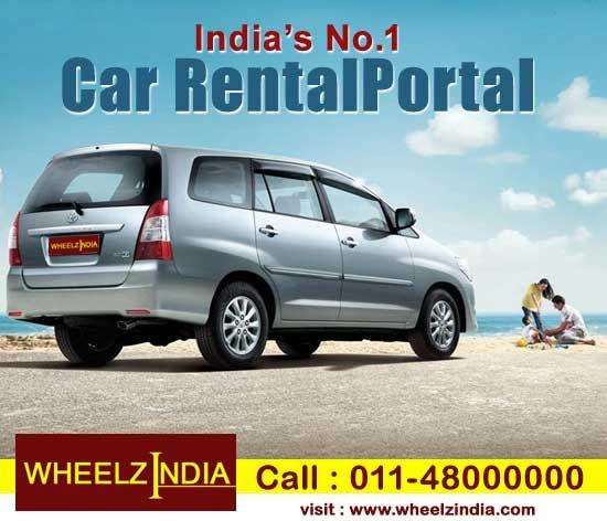 Book Online Car With Wheelz India Toyota Innova Car Rental Service Toyota