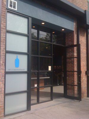 Blue Bottle Coffee - 160 Berry St (between 6th St & 5th St), Brooklyn, NY 11211 (Neighborhood: Williamsburg - North Side)
