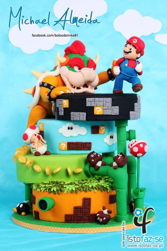 Photo of SUPER MARIO – The Sugar Fraternity GAME ON! Collaboration