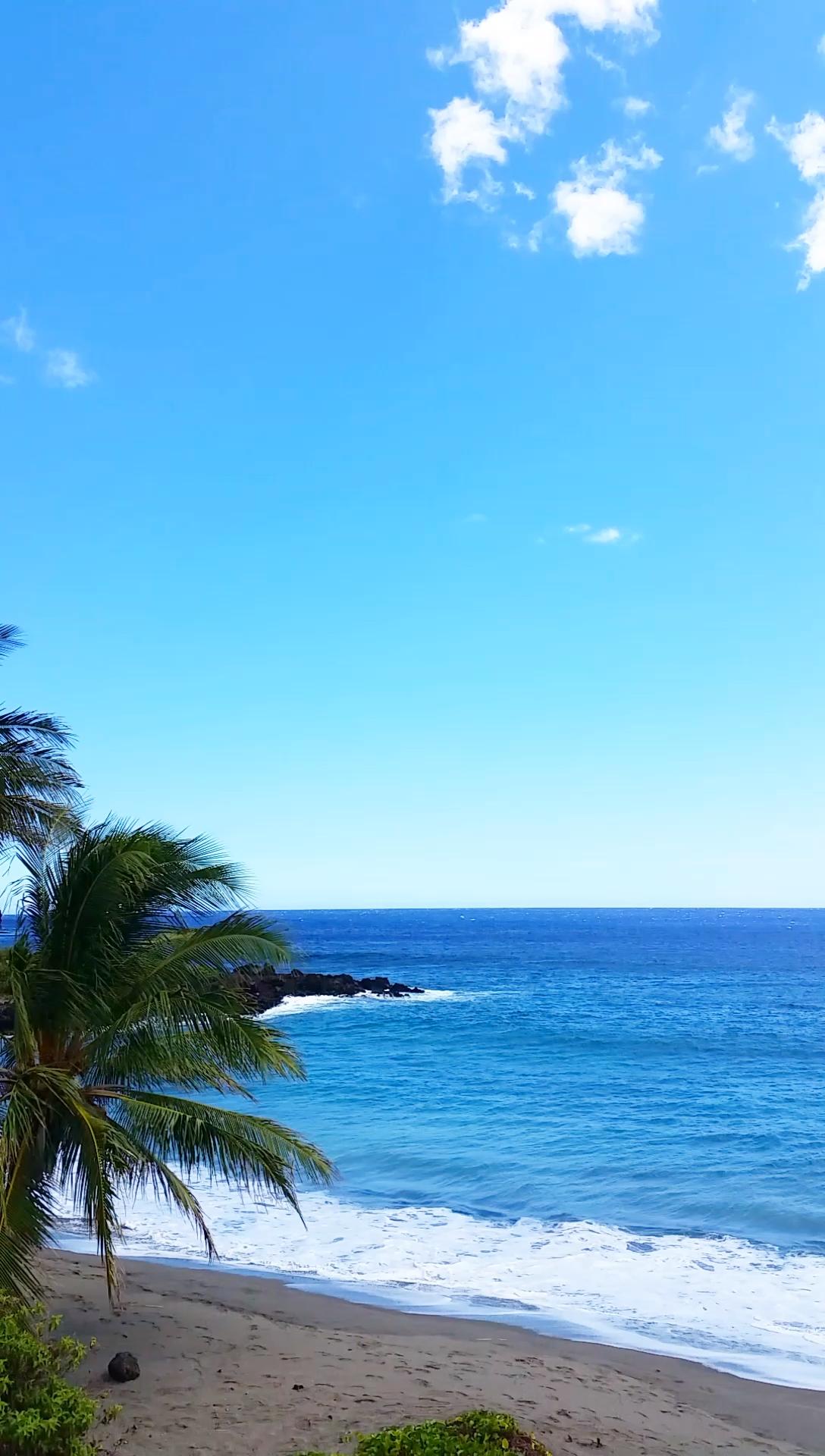 Tropical island beach Travel Hawaii travel ideas. pohue bay beach hike. Outdoor beach travel tips. beautiful places for world bucket list, wanderlust inspiration, tropical islands.