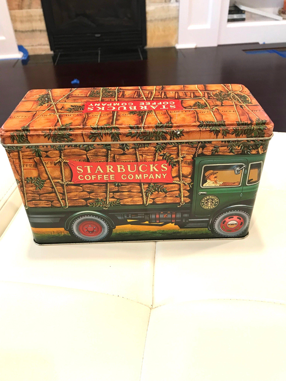 Vintage Starbucks Coffee Company Truck Crane Design