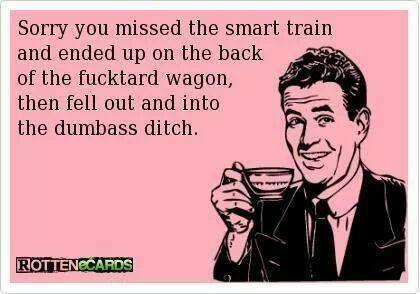 Bahahahahaha! #sorrynotsorry