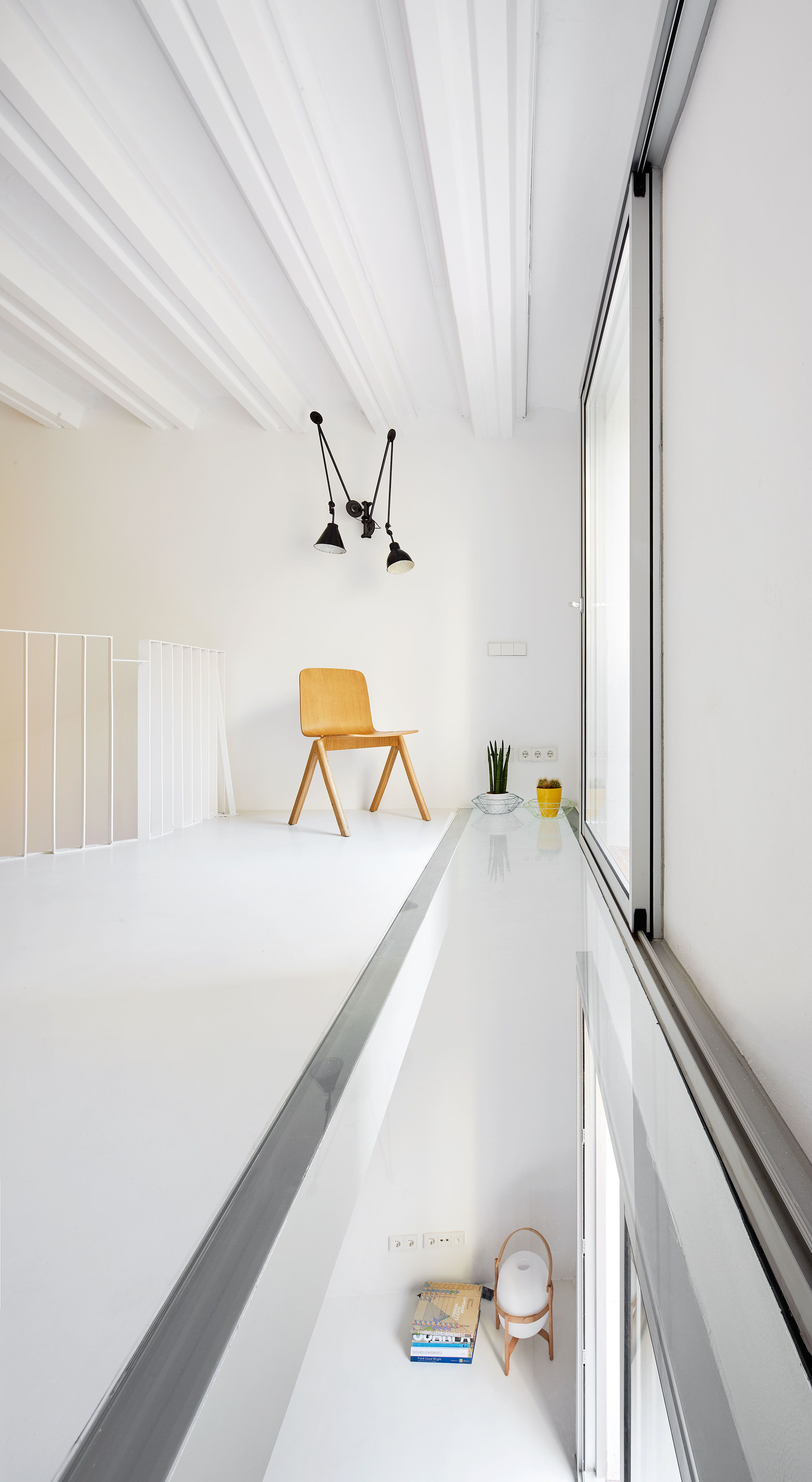 Duplex tibbaut mezzanine floor mezzanine and ground floor