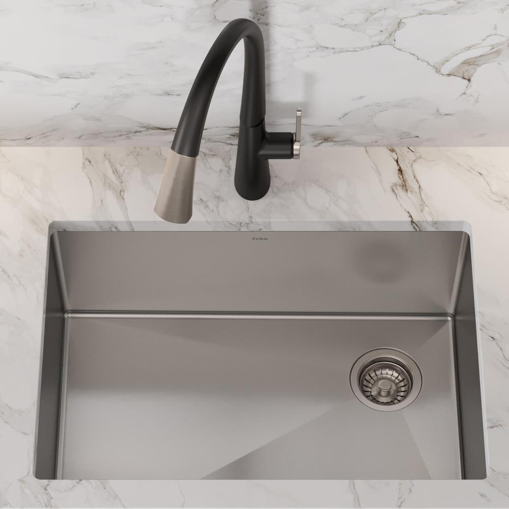 Kraus standart pro undermount stainless steel 27 in