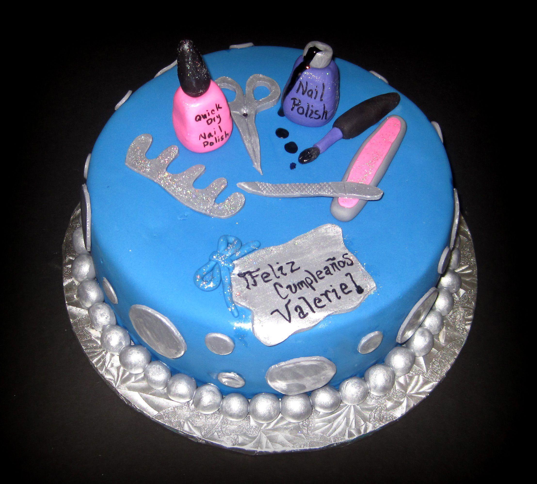 Nail Artist Cake Birthday Ideas Pinterest Artist Cake Cake
