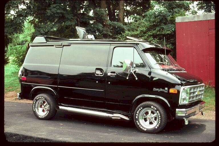 Chevy Van Bed On Wheels This One Looks More Like Cal S But
