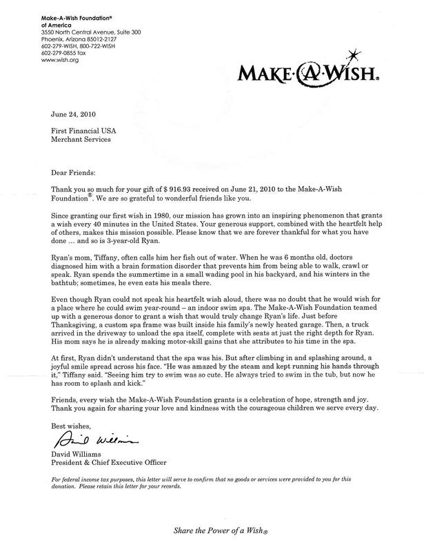 Make A Wish Non Profit Testimonial With Images Wish Foundation
