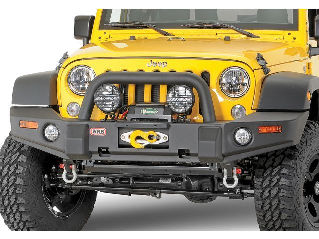 ARB Deluxe Combination Bull Bar Bumper for 07-18 Jeep