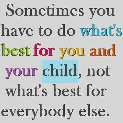 What's best for your child... #autismawareness