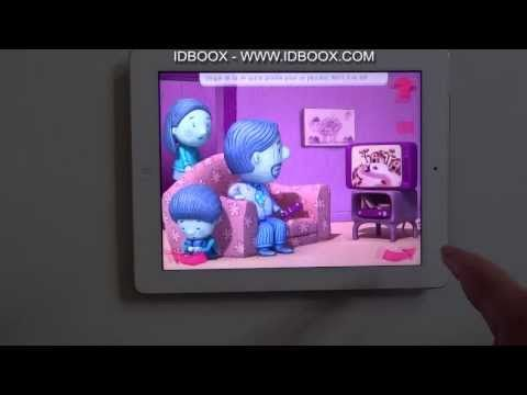Bernard Bleu Appli enfant iPad - IDBOOX